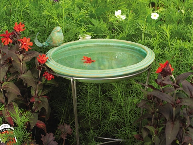 Terracotta Bird Bath